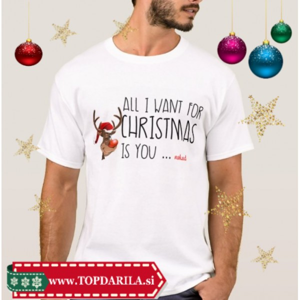ALL I WANT FOR CHRISTMAS IS YOU- trgovina TOP DARILA.si