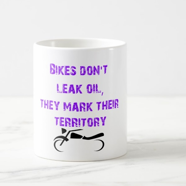Skodelica Bikes Dont Leak Oils